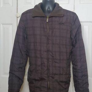 BILLABONG Brown Coat Size L